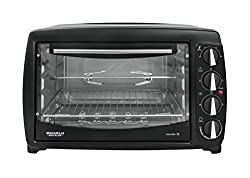 Maharaja White Line Marvello 35-Litre Toaster Oven (Premium Black and Silver)