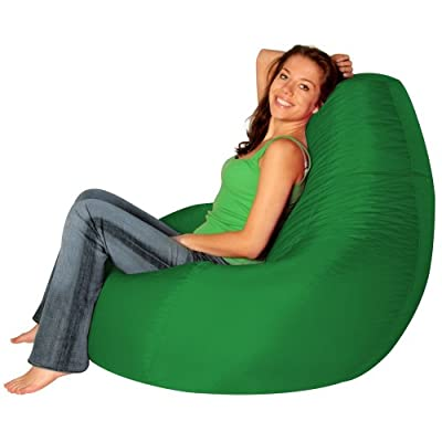 Recliner Gaming Bean Bag GREEN - Bean Bag Bazaar®