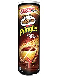 Pringles Hot and Spicy, 190 g