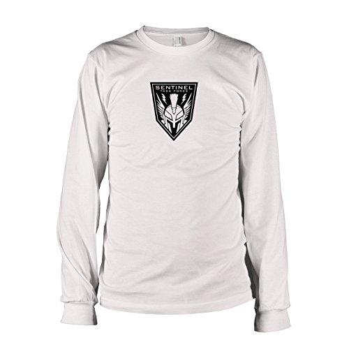 TEXLAB - Sentinel Task Force - Langarm T-Shirt, Herren, Größe XXL, weiß
