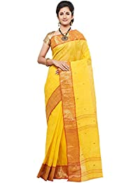 Slice Of Bengal Light Weight Broad Border Cotton Handloom Taant Tangail Saree