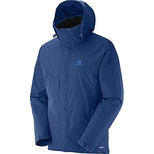 Salomon Unisex Jacke Elemental Mitternacht Blau
