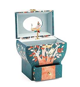 Djeco Caja de música Sonidos nocturnos (36592), Multicolor (1)