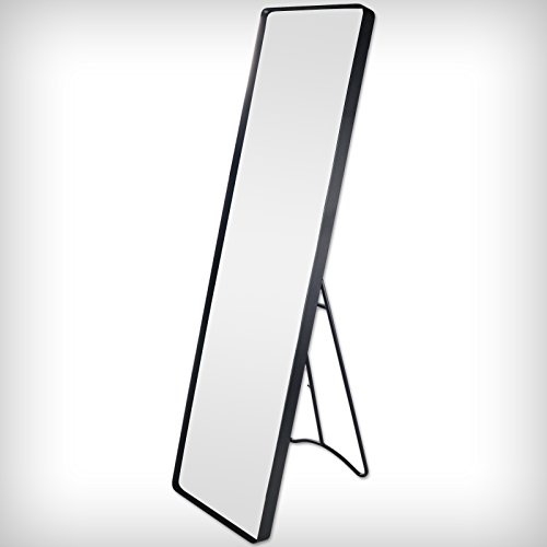 Standspiegel Garderobenspiegel Ankleidespiegel Ganzkörperspiegel Spiegel Blauanthrazit (CP-6001)