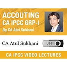 Accounting Video Lectures for CA IPCC Group I by CA Atul Sukhani (Pen Drive)