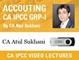 #3: Accounting Video Lectures for CA IPCC Group I by CA Atul Sukhani (Pen Drive)
