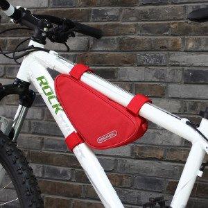 XY&GKMountain Road Bike vordere Rohr oberen Rohr Sattel Dreieck Tasche Reiten Ausrüstung, machen Ihre Reise angenehmer gules