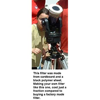 "6""x6"" Solar Filter Sheet for Telescopes, Binoculars and Cameras"