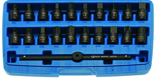 Preisvergleich Produktbild BGS Ölwannen-Spezialeinsatz-Set, 10 (3/8), 21-teilig, 1 Stück, 1014