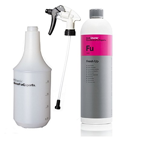 Price comparison product image Cooking Chemicals – Fresh Up – Odour Killer 1000 mL / Spray Star & Cylinder Bottle 1 Litre Spray Head Star