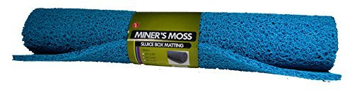 SE GP-MT417-3BL Miner's Moss (Sluice Box Matting) in Blue, 23-3/4 x 35 by SE