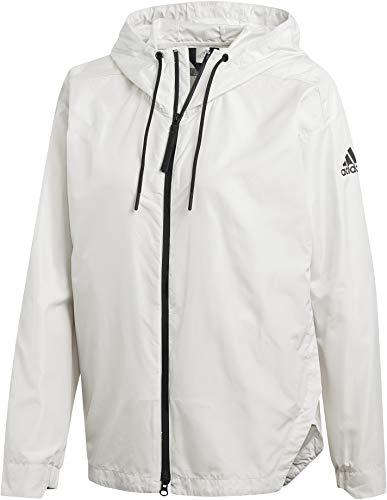 adidas Terrex Urban CS Jacket Women raw White Größe M 2019 Funktionsjacke