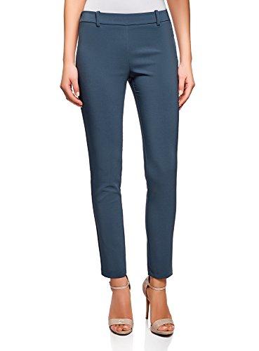 Oodji Ultra Mujer Pantalones Ajustados Cintura Elástica