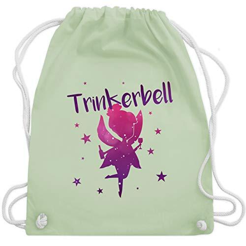 Kostüm Sprit - JGA Junggesellinnenabschied - Trinkerbell - Unisize - Pastell Grün - WM110 - Turnbeutel & Gym Bag