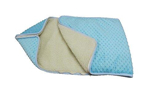 BLAU KINDER BABY Kuscheldecke Wickeln Wickeltisch Decke Wolle Schlafsack für Neugeborene Baby
