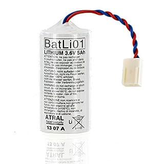 BatLi01 - Lithium-Batterie (3,6 V/5 Ah) BatLi01 - Atral - Daitem