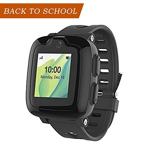 Oaxis - smart watch phone per bambini - 3g smartwatch con localizzatore gps, schermo tattile, fotocamera, allarme remoto sos, orologio impermeabile per telefoni cellulari - myfirst fone