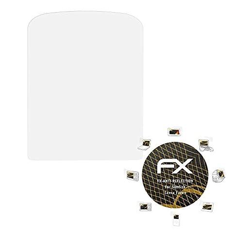 Sandisk Sansa Fuze+ Displayschutzfolie - 3 x atFoliX FX-Antireflex blendfreie Folie Schutzfolie