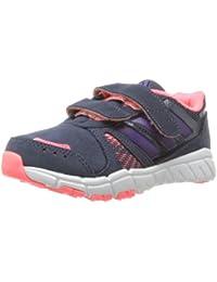 best website 07da9 a1a66 adidas Fluid Conversion CF K Klett Kinderschuhe Trainingschuhe Laufschuhe  Indoor Hallenschuhe dunkelblaulilapink