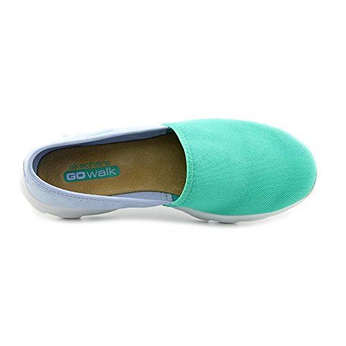 Skechers Go Passeggiata Spostare Reach 13678 Walking Loafer Scarpe Aqua