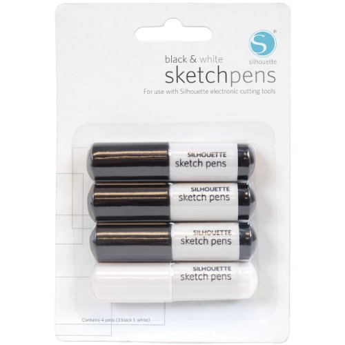 silhouette-sketch-pens-4-pkg-3-black-1-white