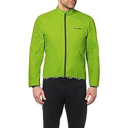 VAUDE Men's Air Jackett II – Cortavientos de Ciclismo para Hombre – Chaqueta de Ciclista Ultraligera – Color Pistachio, Talla L