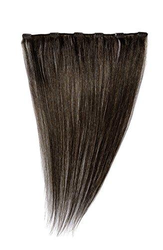 American dream - extension con clip, fissaggio rapido, con capelli umani, 45,8 cm