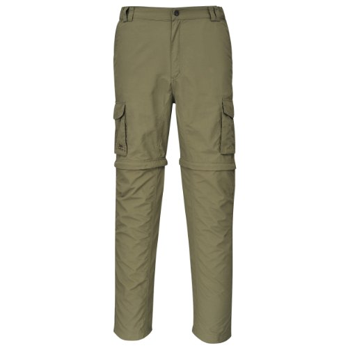 Cox Swain Trekking Hose Range Men Quick Dry - Anti Moskito - UV Schutz, Colour: Olive, Size: XL