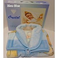 Baby Sac–Sacco nanna–nido d' angelo–Coperta in pile Bambino–Blu