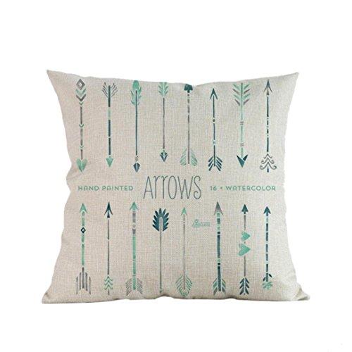 Kreativität mit Pfeil-Kissenbezug, hshi Sofa Taille Throw Kissen Cover Home decor-45X 45cm, B, 1