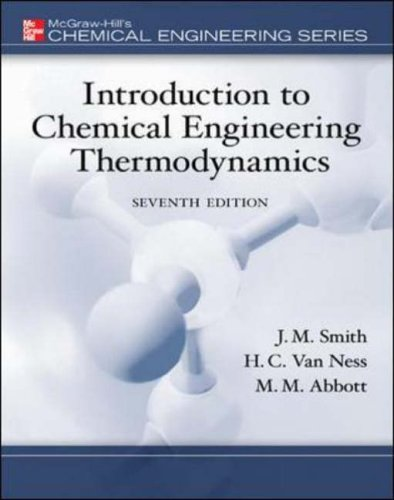 Introduction to Chemical Engineering Thermodynamics (McGraw-Hill Series in Civil and Environmental Engineering)