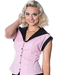 Banned Women's Grease Shirt (Pink)