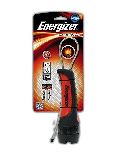 Energizer 328038 Linterna LED de trabajo, Negro, 5.1x5.1x17.9 cm