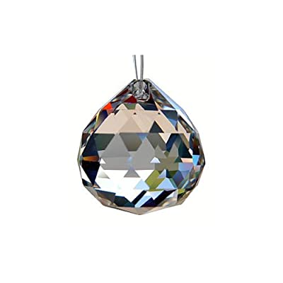 HAB & GUT© (G701-30) Kristall Kugel Dreiecksschliff 30 mm Bleikristall - Premium-Qualität von Hab & Gut bei Lampenhans.de