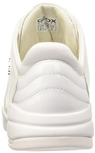 Geox Damen D Sfinge A Sneaker Weiß (WHITEC1000)
