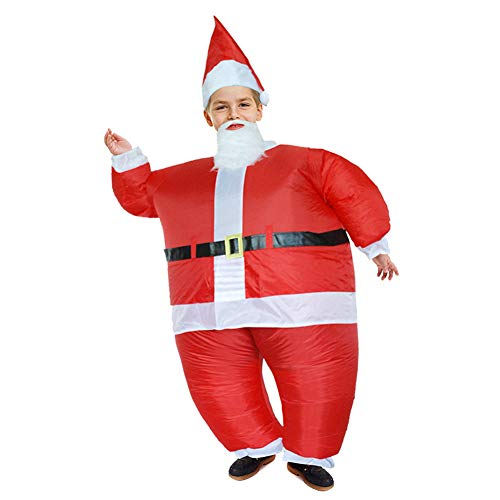 Homesave Weihnachtliches Kinder Aufblasbares Kostüm Santa Claus Anzüge