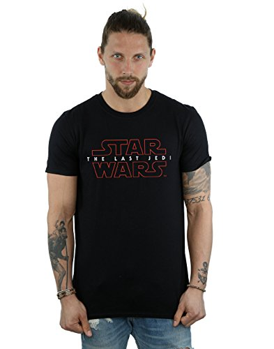 Wars Shirts Star T (Star Wars Herren The Last Jedi Logo T-Shirt X-Large)