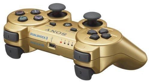PlayStation 3 - DualShock 3 Wireless Controller, gold (Gold, Playstation 3 Controller)