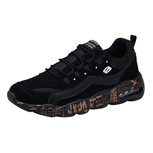 Bluestercool Uomo Scarpe Running Sneakers Sport Outdoor Scarpe Summer Fashion Mesh Breathable Uomo Scarpe da Corsa