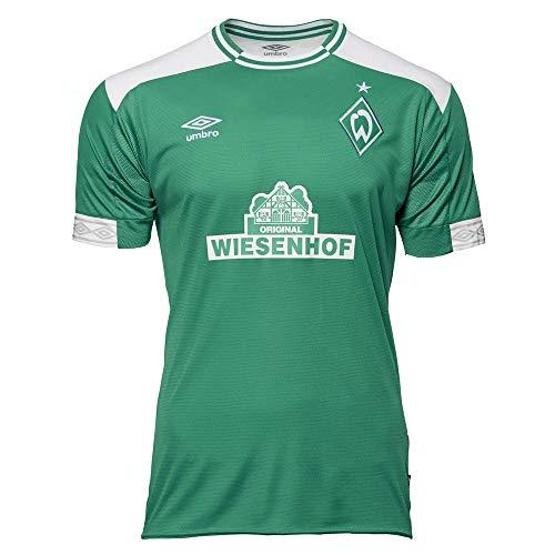Umbro Herren Werder Bremen Home SS Jersey grün S