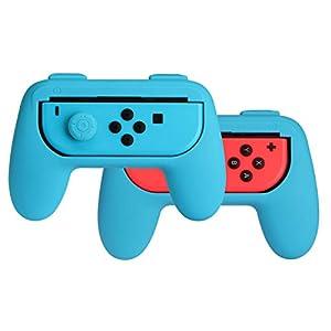 AmazonBasics – Schutzhüllen-Kit für Joy-Con-Controller für die Nintendo Switch, Blau