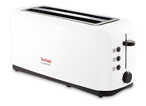 Tefal TL270101 Brot-Toaster mit 2 Längen Weiß