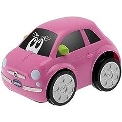 Fiat 500 Turbo Touch, alcanza hasta los 10 metros, color rosa