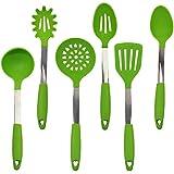 kuke silicona Utensilios de cocina Herramientas de Cocina 6pcs set-green