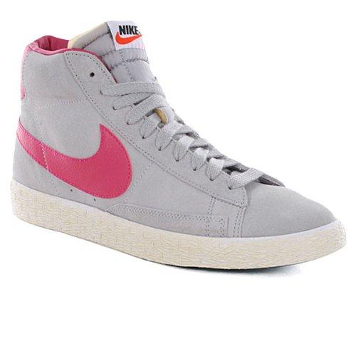 Nike Blazer Mid Suede Baskets Montantes Neuf Cha. Gris