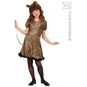 WIDMANN Disfraz de Leopardo con Orejas infantil Carnaval