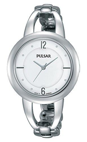 Pulsar Reloj Mujer de Analogico con Correa en Chapado en Acero Inoxidable PH8203X1