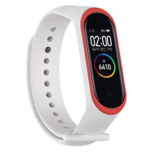 Armband Ersatz für Xiaomi Mi Band 4,MinusK Sport Soft Silikon Armband Smartwatch Uhrenarmband Straps für Xiaomi 4 Wireless Ersatz Zubehör - Herren-erweiterbar-uhr Bänder