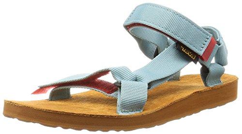 Teva Original Univ. Backp, Heels Sandals Donna, Blu (Nile Blue Nlbnile Blue Nlb), 40 EU