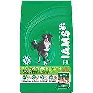 Iams Dry Dog Food Adult Small/Medium Breed, 1 kg - Pack of 4